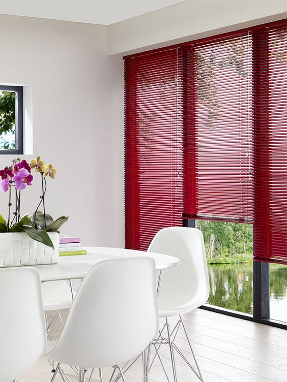 Dining Room Blinds Decoration Custom Inspiration Design