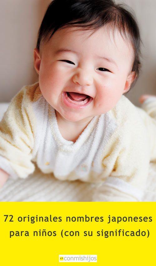 72 Originales Nombres Japoneses Para Niños Con Su Significado Nombres Japoneses Para Niña Nombres Japoneses Nombres De Niños Varones