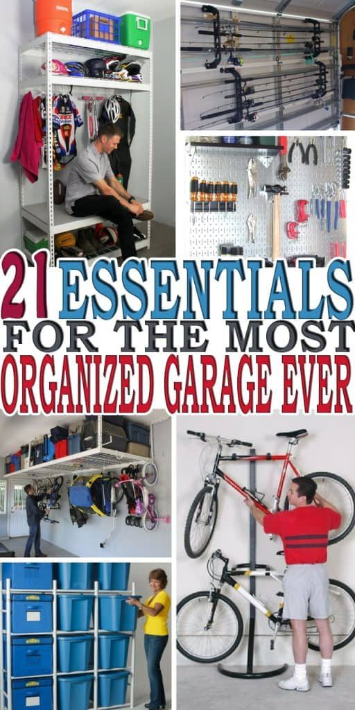 Organizing Your Garage Ideas Part - 43: Organizing Your Garage Is Not An Easy Task. Here Are 21 Of The Best Garage  Organization Ideas To Keep Your Garage Organized. | For The Home |  Pinterest ...