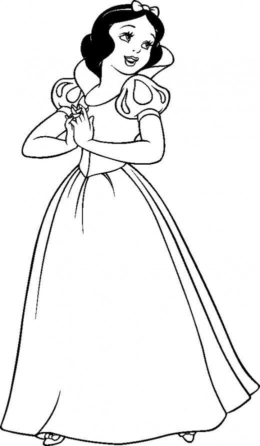 Disney Snow White Coloring Pages Disney Coloring Pages Snow White Snow White Coloring Pages Disney Princess Coloring Pages Disney Coloring Pages