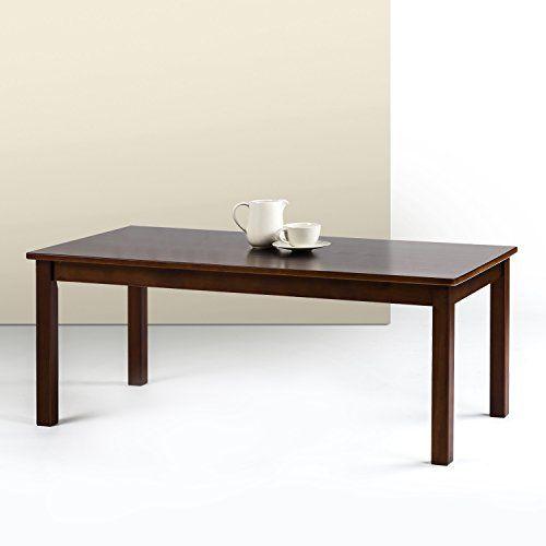 Zinus Espresso Wood Coffee Table Coffee Table Wood Coffee Table