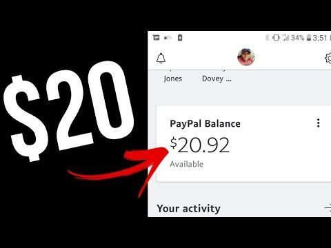 Earn Free Paypal Money In 10 Minutes Right Now 20 In Free Paypal Cash Instantly Youtube Paypal Cash Paypal Gift Card Earn Free Money