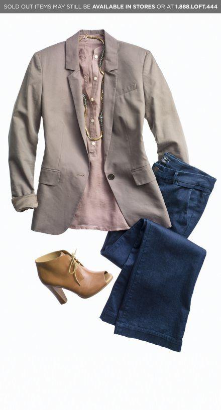 Outfit Ensemble by Ann Taylor Loft.