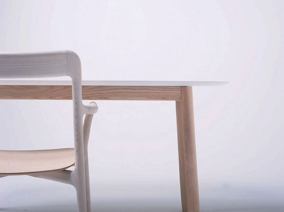 Branca Chair and Table by Industrial Facility #chair #design #table #minimalist