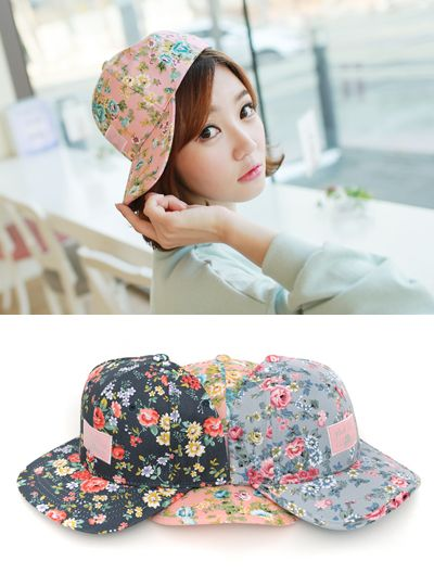 Spring Outing Flower Cap]