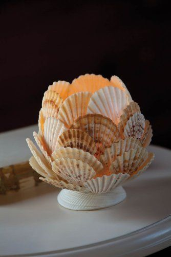 Seashell Tealight Holder by Gifted Living,: