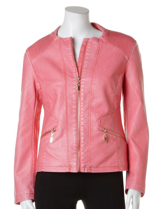 Pink and Jackets on Pinterest