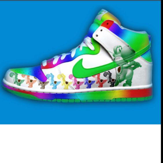 rainbow nikes