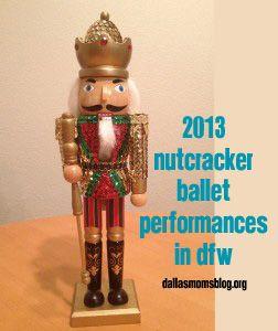 The 2013 Nutcracker Ballet in Dallas-Fort Worth via dallasmomsblog.org