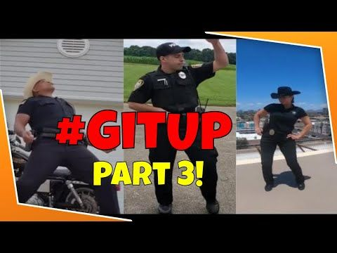 These Police Officers Kill The Git Up Dance Challenge Part 3 Gitupchallenge Youtube Current Music Police Officer Dance Videos