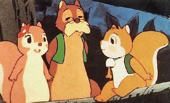 Puschel das Eichhörnchen