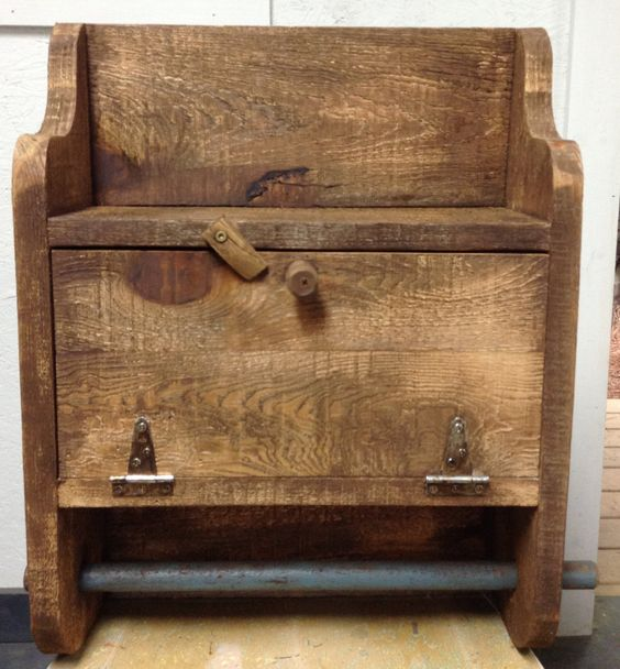 primitive wall cabinet reclaimed wood cabinet primitive paper towel