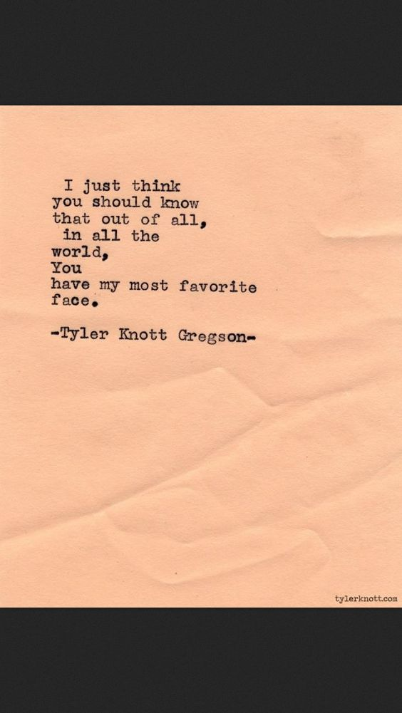 Tyler Knott Gregson typewriter series #479