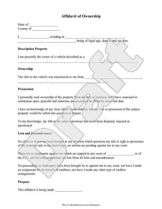 Affidavit Of Facts Template Mayzee Bautista Maybautistarn On Pinterest