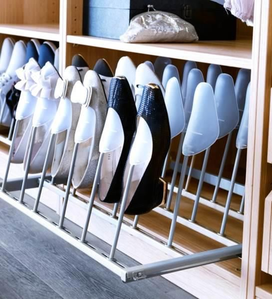 Bedroom cupboards shoes Organised Spaces