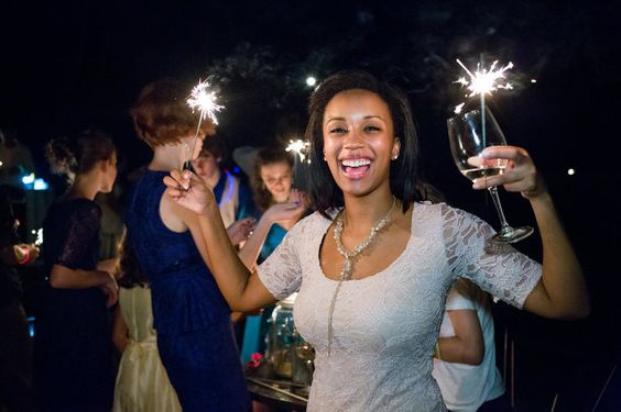 Sparkler Send Off Photo By Lelia Marie Photography