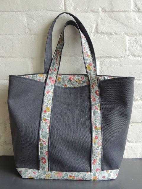 Célèbre patron couture sac cabas vanessa bruno | sacs | Pinterest | Sac  EP72