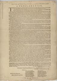 A Proclamation of Tyranny and making the rightchoice!