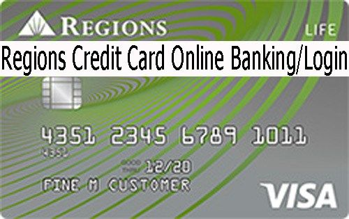 Regions Online Banking Regions Credit Card Login With Images