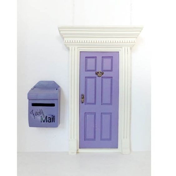The fairy the o 39 jays and doors on pinterest for Little fairy mailbox