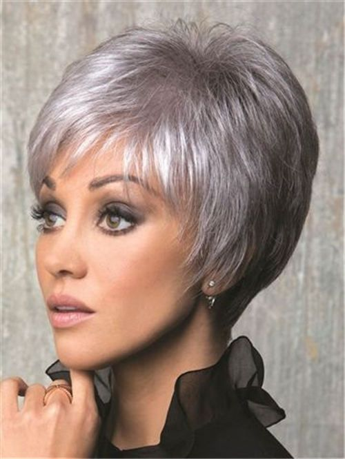 32 Coolest Short Grey Hairstyles To Try This Year Trendy Short Hair Styles Short Hair Styles Short Hairstyles For Women