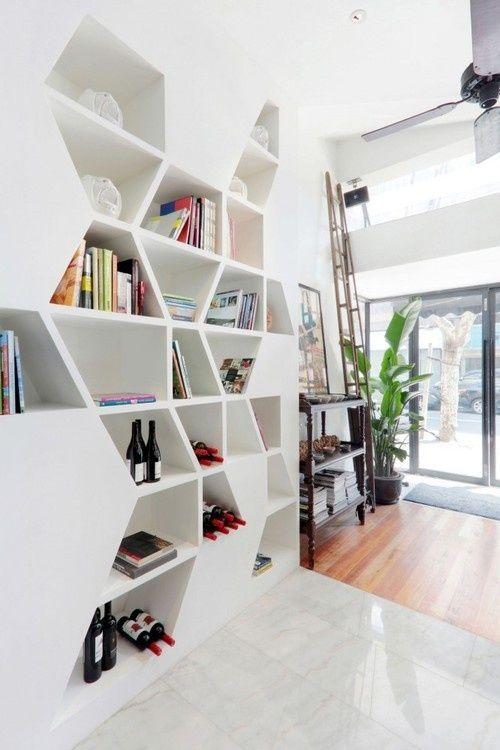 estantes criativas