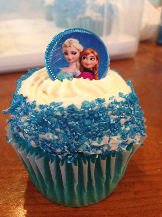 how to make blue buttercream frosting