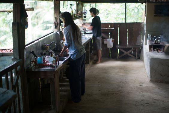 Sertão Do Taquari: farm kitchen