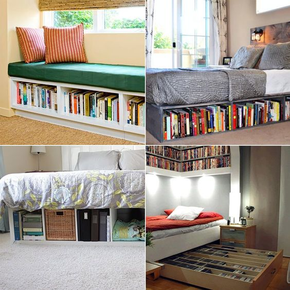 Domowa biblioteczka - Designyourlife.pl http://designyourlife.pl/design/domowa-biblioteczka-9-pomyslow-na-przechowywanie-ksiazek/