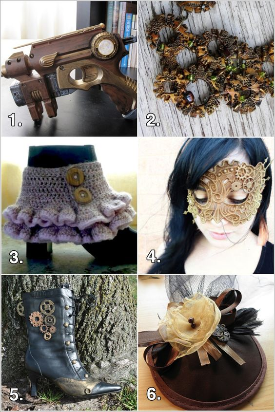 Steampunk geek crafts and steampunk crafts on pinterest for Easy steampunk ideas