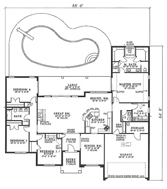 4 bedroom single story could make several small changes 4 bedroom single story floor plans