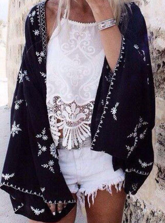Holiday fashion. Summer fashion. Festival fashion