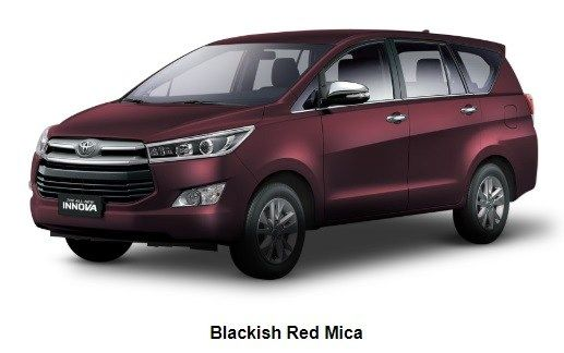 2018 Toyota Innova Blackish Red Mica Toyota Innova Toyota Cars Toyota