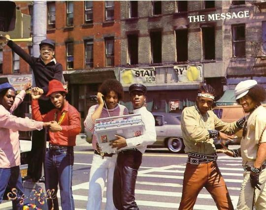 Grand Master Flash and the Furious Five at 123rd Street: