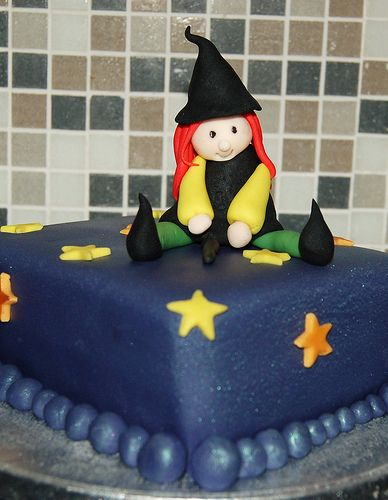 Little Witch Halloween Cake | Flickr - Photo Sharing!