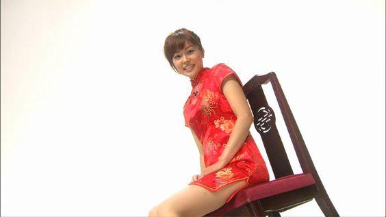 本田朋子チャイナドレス着て可愛い画像