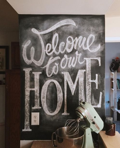 20 Creative Chalkboard Kitchen Decoration To Stand Out