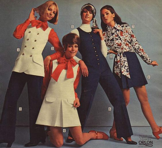 Anuncio de Orlon - 1969