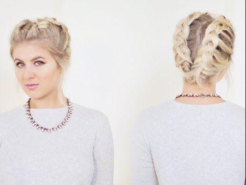 Hairstyles For Short Hair Milabu : Braid short hair, Short hairstyles and Short hair tutorials on ...
