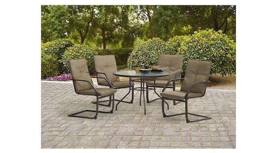 Mainstays 5-Piece Patio Dining Set $149.00 (walmart.com)