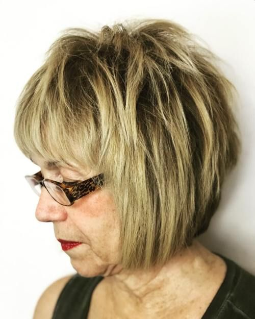 Short Bob For Women Over 60 Short Hair Styles Older Women Hairstyles Thick Hair Styles
