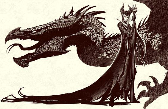 Maleficent Fan Art