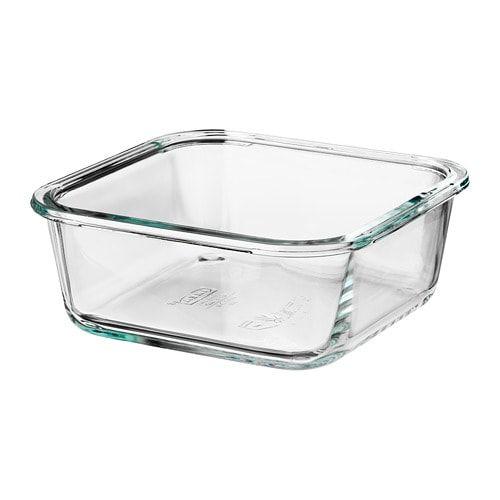 Ikea 365 Recipient Alimentaire Carre Verre Ikea Food Containers Ikea 365 Safe Glass