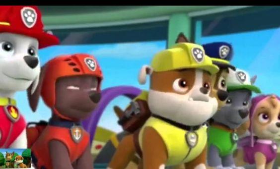 щенячий патруль мультфильм  -  щенячий патруль эпизод 3