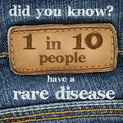 There are approximately 7000 different types of rare diseases and disorders, 30 million people in the US are affected, approximately 10% of the US population.: