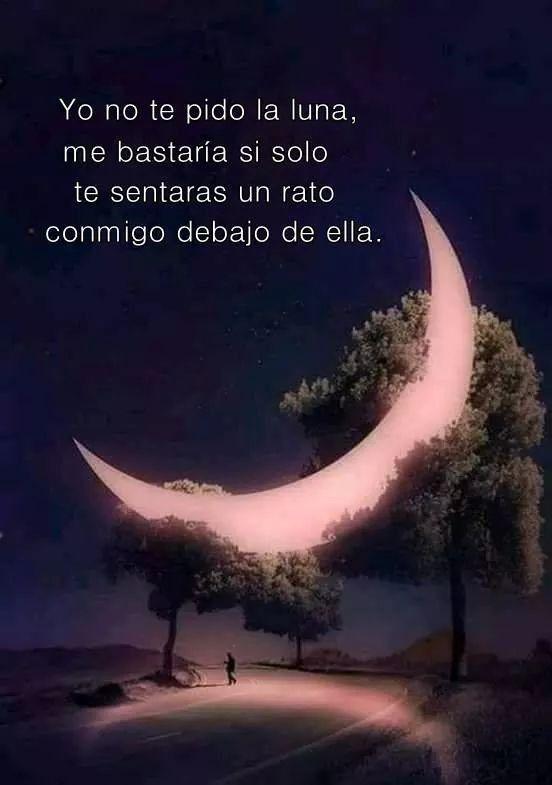 Y Q La Noche Fuera Eterna Frases De Buenas Noches Amor