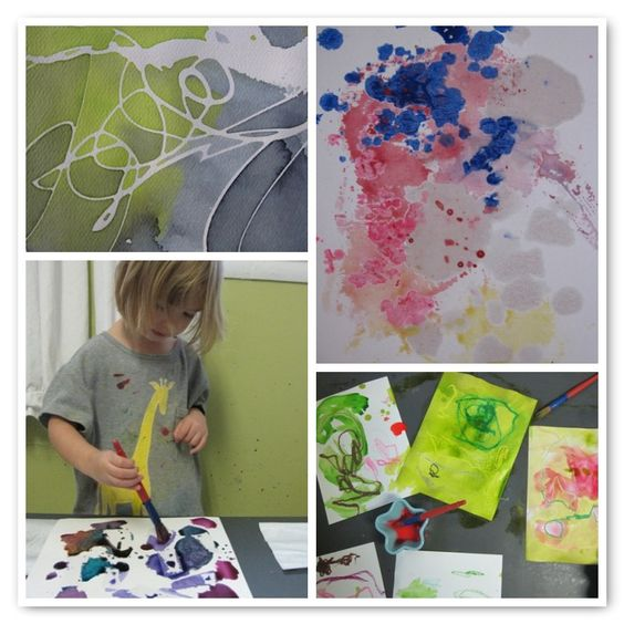 """Wonderful blog!  Click on """"Arts and Crafts"""" heading for TONS of great ideas for kids' art projects!"""