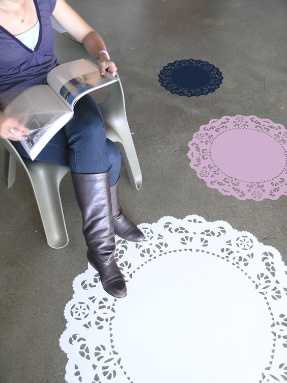 Doily carpet #crochet #afs collection