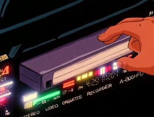 Rip Vhs Japan S Last Video Tape Recorder Maker Ends Production This Month Sharkazoo Ends Japans Maker Mo Aesthetic Gif Retro Futurism Aesthetic Anime