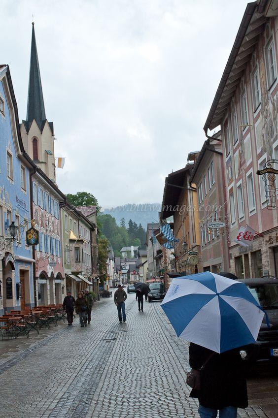 Zugspitze Strasse, Garmisch Germany